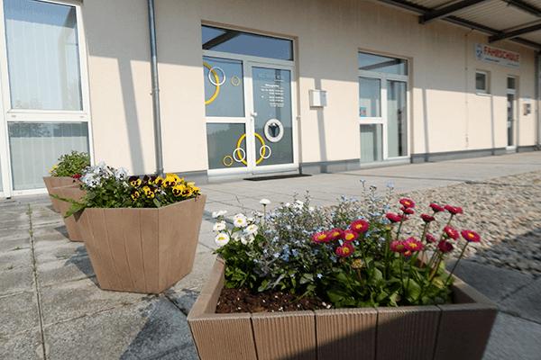 Eingang Ergotherapie Meyer Dresden Klotzsche