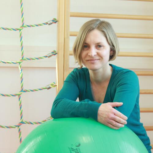 Ergotherapeutin Karen Hoffmann