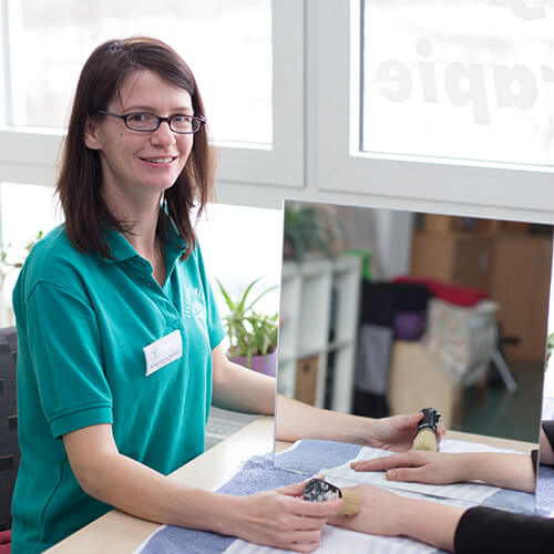 Ergotherapeutin Nadine Tonndorf