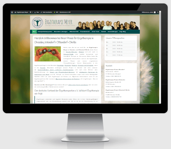 Das neue Website-Design