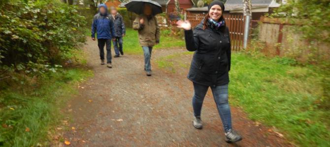 Unsere erste therapeutisch geführte Wanderung durch Weixdorf