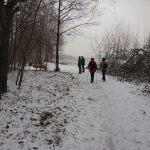 Wanderung durch die Winterlandschaft