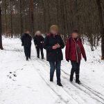 Therapeutische Wanderung durch den Winterwald