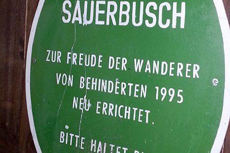 """Wiesen- und Waldtour zur Hütte """"Sauerbusch"""" am 04. Mai 2016"""
