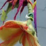 Eine Blume aus Filz