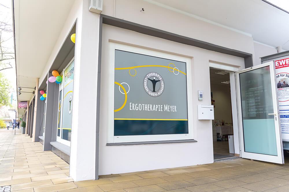 Praxis für Ergotherapie im Zentrum Dresdens Außenansicht