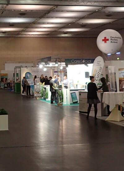 Pflegemesse 2017 in Dresden