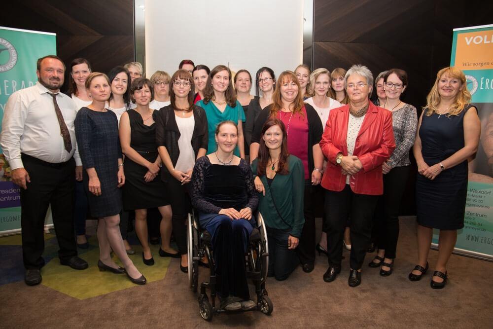Das Team der Ergotherapie Meyer in Dresden