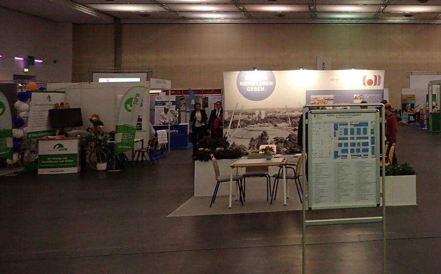 Blick über die zweite Dresdner Pflegemesse