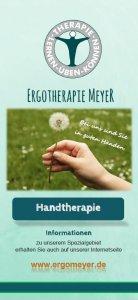 Flyer Vorschau Handtherapie