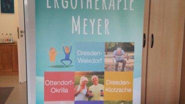 Rollup der Ergotherapie Meyer für die Pflegemesse