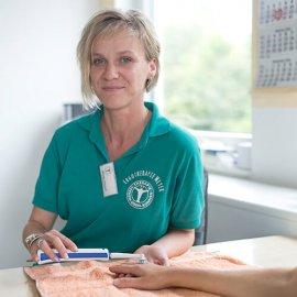 Ergotherapeutin Mandy Danneil