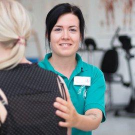 Ergotherapeutin Mandy Frank